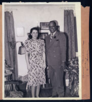 Anne Wiggins Brown and C. W. Hill in Los Angeles, 1940s