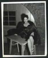 Unidentified African American woman, Los Angeles, 1940s?