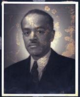 Floyd C. Covington, executive director of the Los Angeles Urban League, 1940s