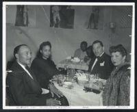 Walter L. Gordon, Jr. and Hazel Anthony, Los Angeles, 1951