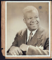 Portrait of James Baskett, 1940s