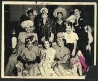 Marva Louis, Betty Clark, Ethel (Sissle) Gordon, Los Angeles, 1940s