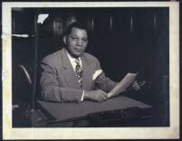 Walter L. Gordon, Jr., Los Angeles, 1940s