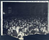 Mr. Ervin, publisher of Neighborhood News, at a formal event, Los Angeles, 1940s?