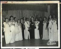 African American sorority women, Los Angeles, 1940s