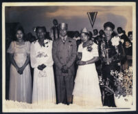 Members of an African American lodge, Los Angeles, 1940s