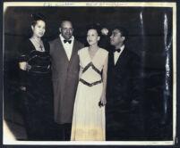 Angelique DeLavallade, Bertrand B. Bratton, Alma Lehman, and John M. Lehman, Los Angeles, 1950s