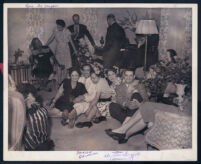 Party at the home of Hugh Bell, Los Angeles, 1940s