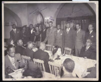 African American business and legal figures, Los Angeles, 1940s