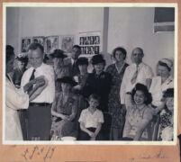 Judge John Beardsley being vaccinated, Los Angeles, 1940s