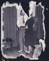 Walter L. Gordon, Jr. and Adrienne Marshall dancing, Los Angeles, 1940s