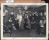 Formal affair in Los Angeles, 1940s