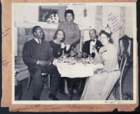 Dr. Liddell, Mrs. Taylor, Fannie Benjamin and Olive Neal, Los Angeles, 1940s