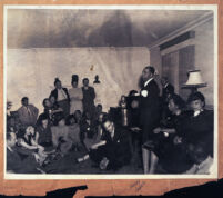 "Gathering attended by Earl ""Red"" Griffin, Freddy Clark, and others, Los Angeles, 1940s"