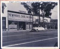 Walter L. Gordon, Jr.'s building at 4072 S. Central Ave, Los Angeles, circa 1945