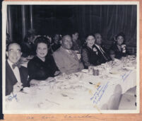 Dining at Earl Carroll Theatre, Hollywood, 1940s