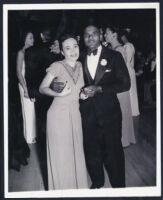 Unidentified African American couple, Los Angeles, 1940s