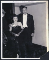 Dr. Howard Allen's secretary and her husband, Los Angeles, 1940s