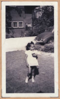 Cynthia Sissle, daughter of Ethel (Sissle) Gordon, Los Angeles, 1940s