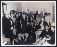 Party at Curtis C. Taylor's house, Los Angeles, 1940s