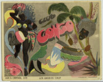 Souvenir photograph folder from Club Congo, Los Angeles, 1940s