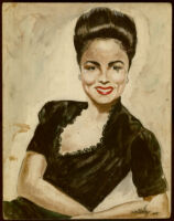 Painting of Ethel (Sissle) Gordon
