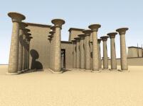 3D Visualization of Khons Temple