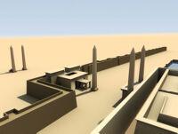 3D Visualization of East Karnak in Ramesses II's Reign