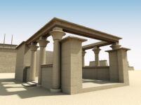 3D Visualization of Hakoris Bark Shrine