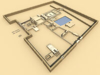 3D Visualization of Temple of Amun-Ra, Roman Period