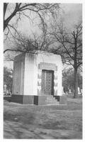 A.J. Franks Mausoleum, Chicago, exterior view