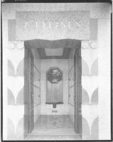 A.J. Franks Mausoleum, Chicago, crypt