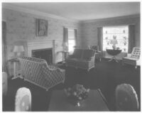 Boasberg House, Westwood, Los Angeles, living room