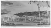 Desert Club, La Quinta, second unit, photograph of rendering