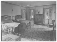Goldsmith House, Los Angeles, bedroom