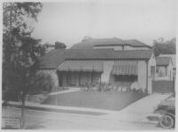Goldsmith House, Los Angeles, exterior, front elevation