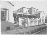 Goldsmith House, Los Angeles, exterior, side elevation