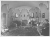 Goldsmith House, Los Angeles, living room