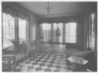 Goldsmith House, Los Angeles, sun room