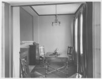 Haddon Hall Apartments, Los Angeles, apartment interior, dining room