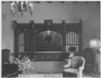 Haddon Hall Apartments, Los Angeles, lobby desk