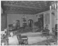 Haddon Hall Apartments, Los Angeles, lobby