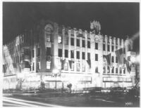 Hollywood Western Building, Los Angeles, exterior, opening night
