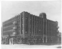 Hollywood Western Building, Los Angeles, exterior view