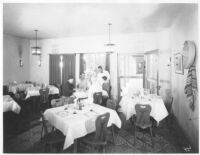 Hotel del Tahquitz, Palm Springs, dining room