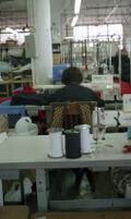 Garment Worker at Work