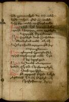 Manuscript No. 45:  Calendar of Feasts, 17th Century