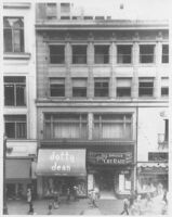 Le Roy's Store, street elevation before remodeling