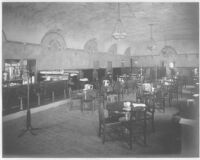 Marchetti's Restaurant, Los Angeles, dining room before remodel