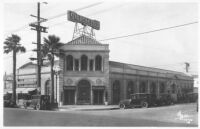 Marchetti's Restaurant, Los Angeles, street elevation before remodel